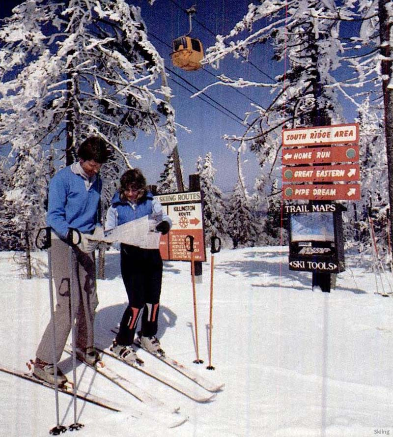 The Killington Gondola circa the early 1980s