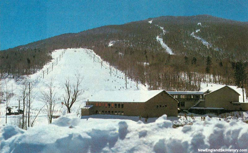 The Snowshed Double 3 (left) circa the 1980s