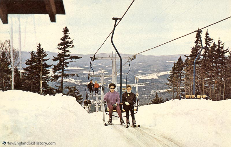 The Black Chair circa the mid 1960s