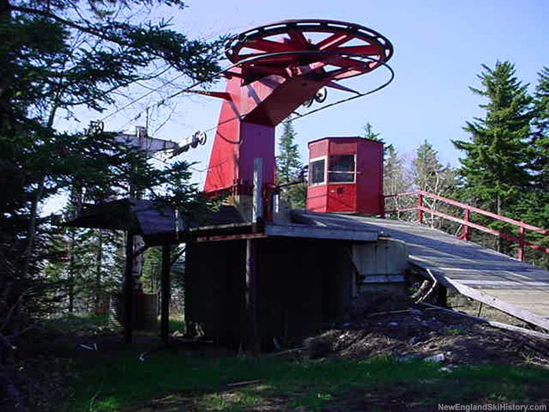 The top of the Red Chair in 2002