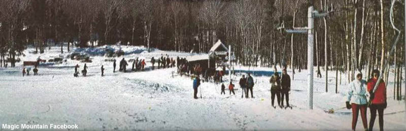 The T-Bar circa the 1960s
