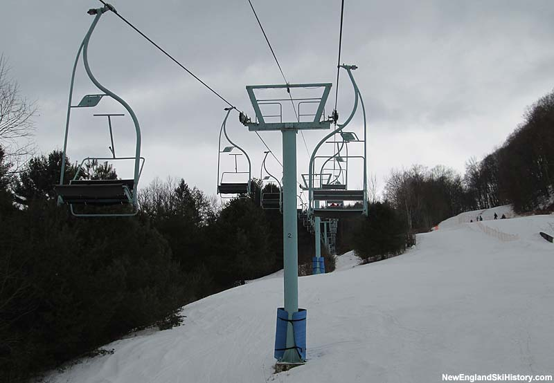 The 1,600 Foot Double Chair in 2014