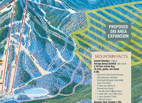 West Bowl  Jay Peak Resort  New England Ski Area Expansions