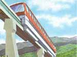 A monorail served ski area?