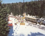 The lift line circa the 1980s