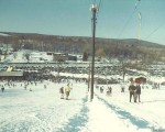 The Ski Ward T-Bar in the 1960s