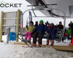 Opening day of the Crotched Rocket, December 1, 2012