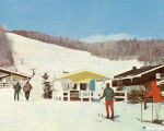 The Spruce Slopes T-Bar (right) circa the 1960s