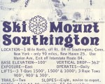 1968-69 Mt. Southington Trail Map