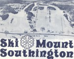 1970-71 Mt. Southington Trail Map