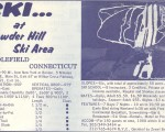 1968-69 Powder Hill Trail Map