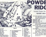 1970-71 Powder Ridge Trail Map