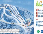 2010-11 Ski Sundown Trail Map
