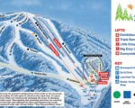 2014-15 Ski Sundown Trail Map