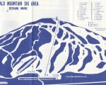 1971-72 Bald Mountain Trail Map