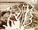 1973-74 Camden Snow Bowl Trail Map