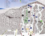 2008-09 Camden Snow Bowl Trail Map