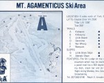 1969-70 Mt. Agamenticus trail map