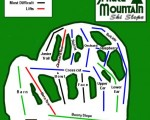 2013-14 Spruce Mountain Trail Map
