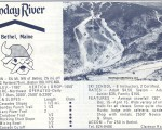 1970-71 Sunday River Trail Map