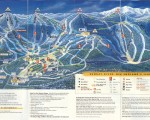 1996-97 Sunday River Trail Map
