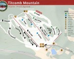 2012-13 Titcomb Mountain Trail Map