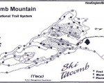 2004-05 Titcomb Mountain Trail Map
