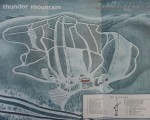1965-66 Thunder Mountain Trail Map
