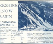 1964-65 Berkshire Snow Basin Trail Map