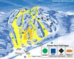 2016-17 Ski Blandford Trail Map