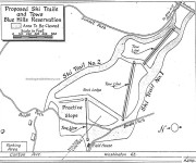 1949 Blue HIlls Development Map