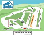 2013-14 Blue Hills Trail Map