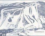 1970-71 Bousquet Trail Map
