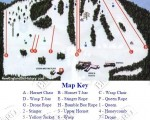 1999-00 Ski Bradford Trail Map