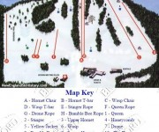 2001-02 Ski Bradford Trail Map
