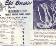 1968-69 Brodie Trail Map
