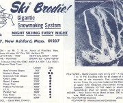 1970-71 Brodie Trail Map