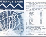 1969-70 Butternut Basin trail map