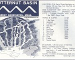 1970-71 Butternut Trail Map