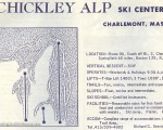 1968-69 Chickley Alp Trail Map
