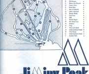 1969-70 Jiminy Peak trail map