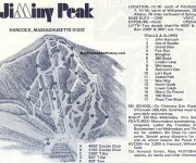 1970-71 Jiminy Peak Trail Map