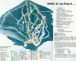 1976-77 Jiminy Peak Trail Map