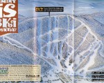 1995-96 Jiminy Peak Trail Map