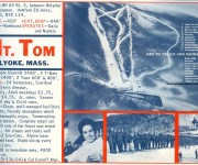 1964-65 Mt. Tom Trail Map