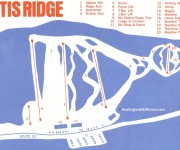 1968-69 Otis Ridge Trail Map