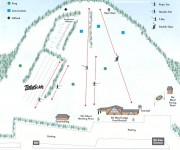 2001-02 Ski Ward Trail Map