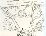 1962-63 Arrowhead Skiway Trail Map