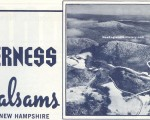 1970-71 Balsams Wilderness Trail Map