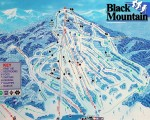 2013-14 Black Mountain Trail Map